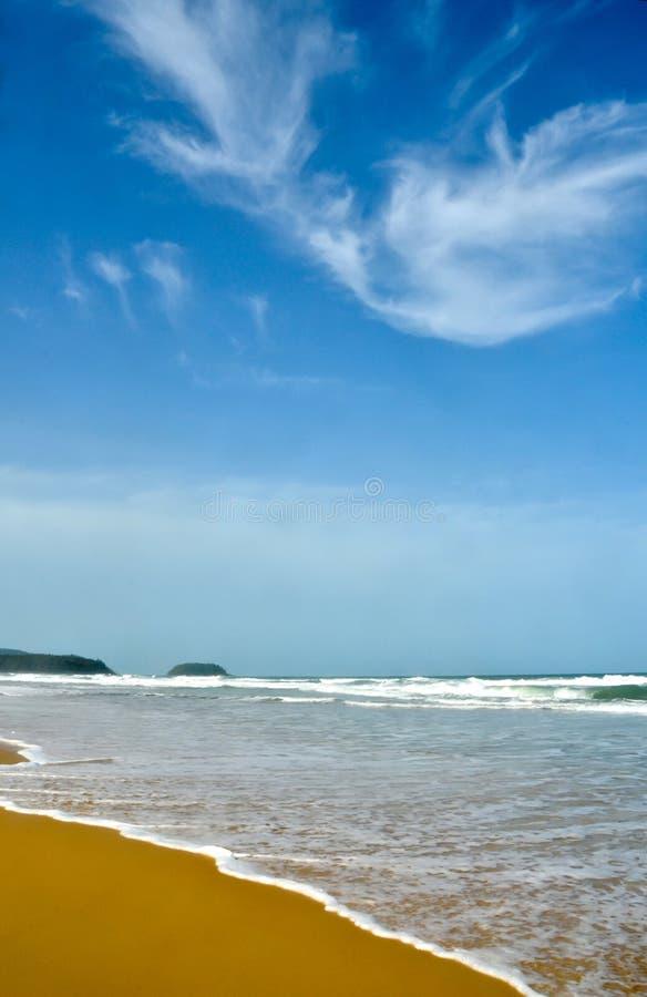 海滩karon普吉岛 库存图片