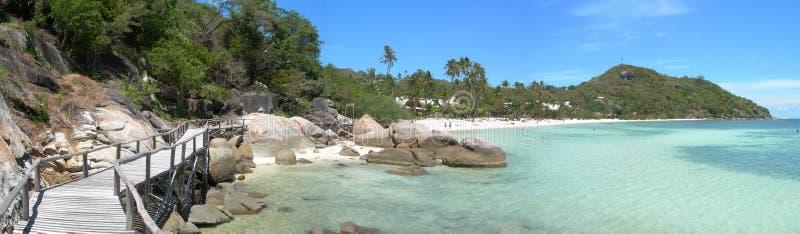 海滩leela泰国 免版税图库摄影