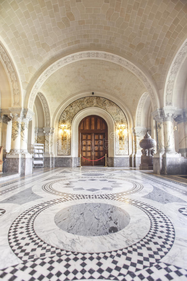 海牙大厅icj主要宫殿和平 库存图片