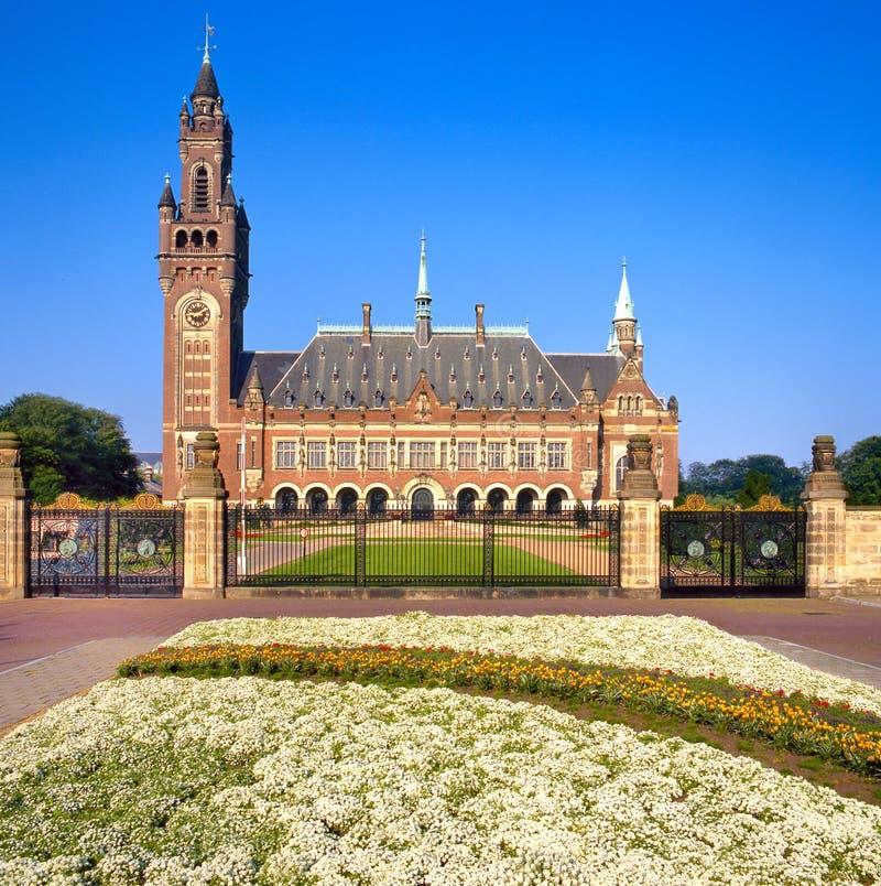 海牙荷兰国家宫殿和平团结了 免版税图库摄影