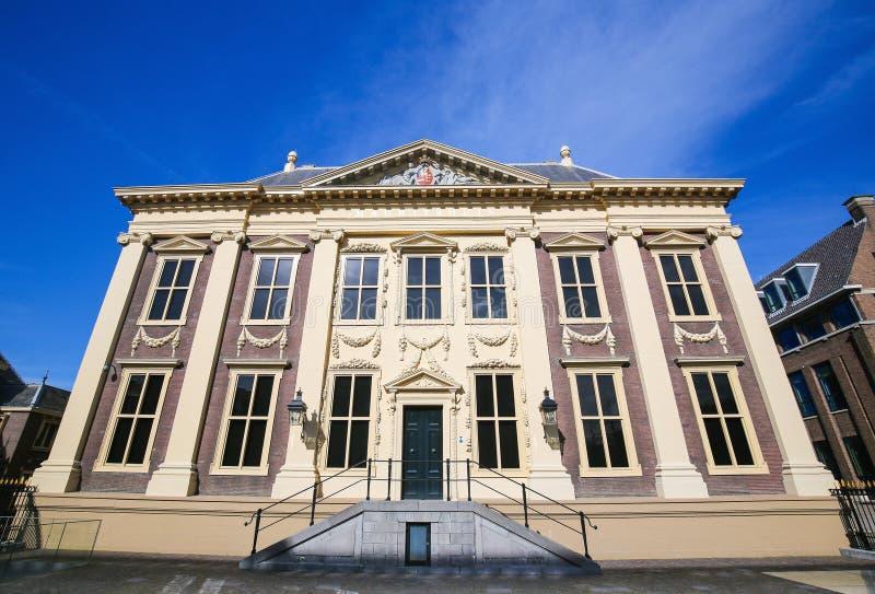海牙,荷兰- Mauritshouse 免版税库存图片