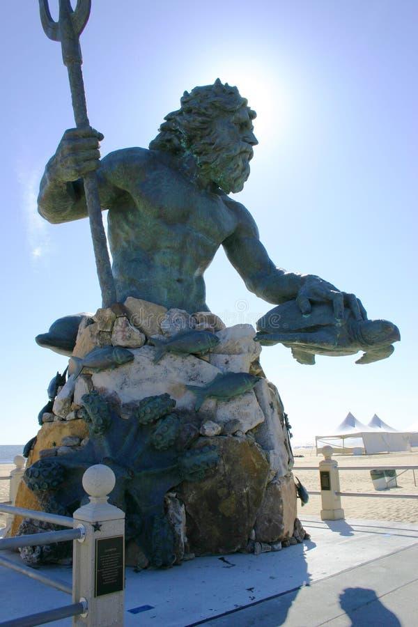 海王星国王 免版税图库摄影