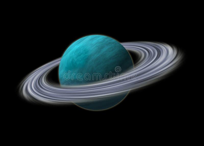 海王星行星 皇族释放例证