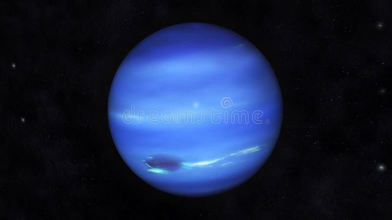 海王星 向量例证
