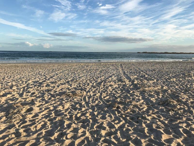 海的看法 免版税库存照片