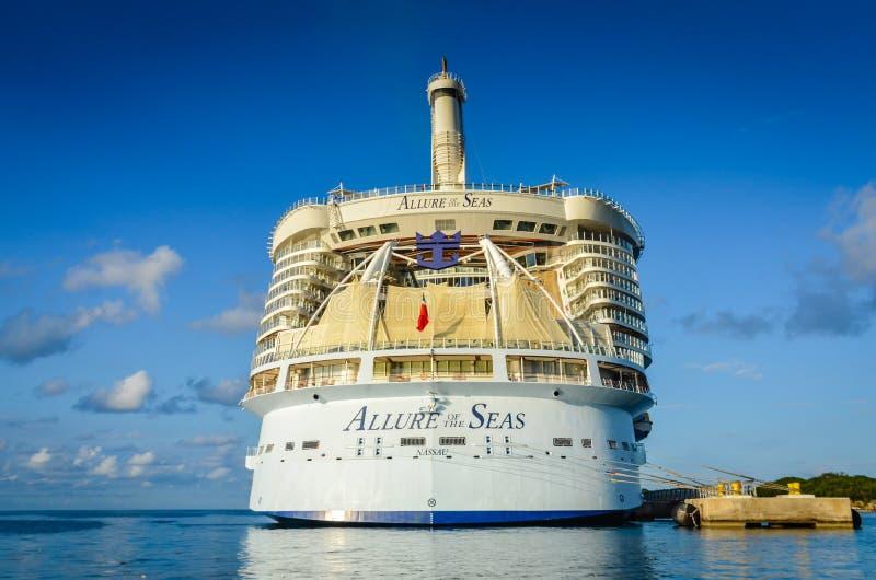 海的魅力- Labadee,海地 库存图片