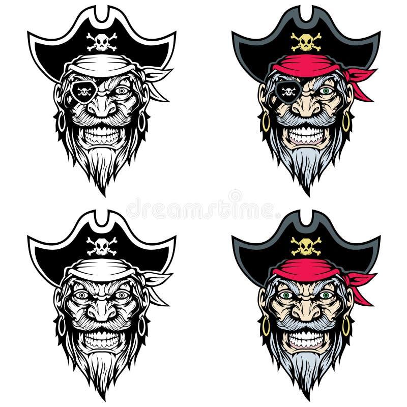 海盗吉祥人 皇族释放例证