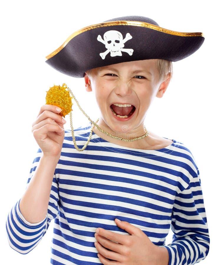 海盗呼喊 库存照片
