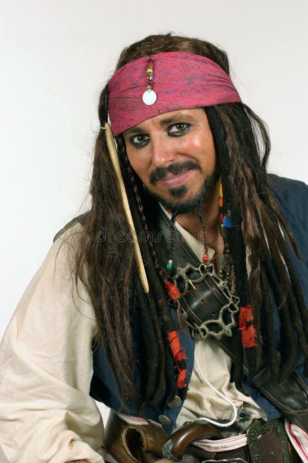 海盗微笑 库存照片