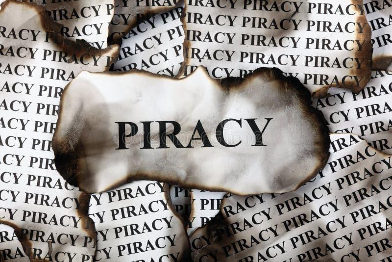 海盗行为 库存照片