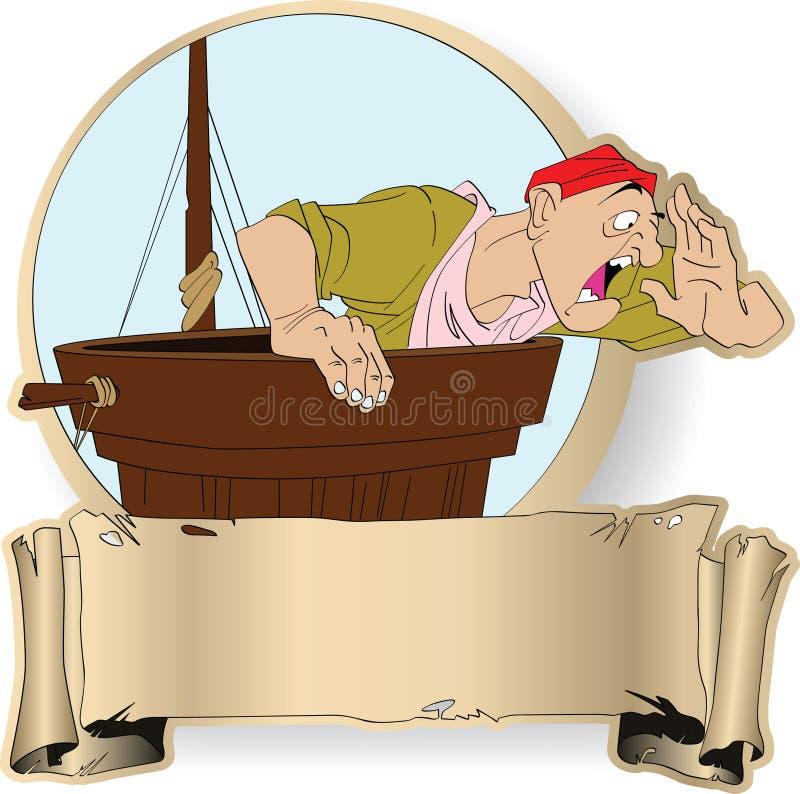 海盗 库存例证