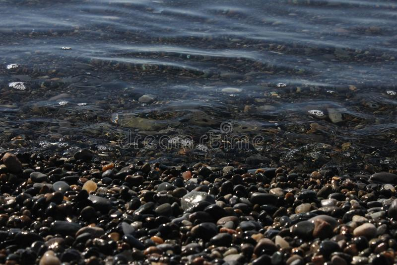 海石头关闭 免版税图库摄影