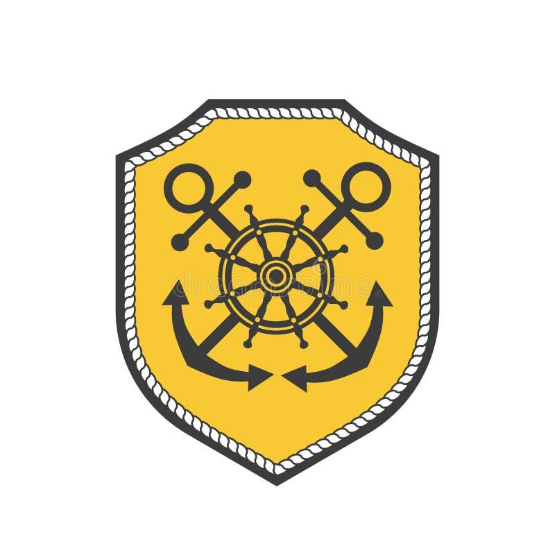 海纹章学象征 向量例证