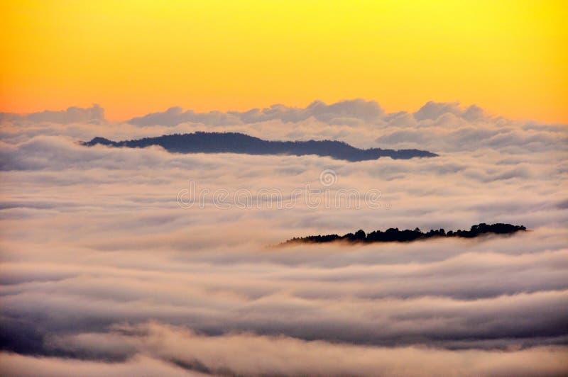 海薄雾 免版税图库摄影