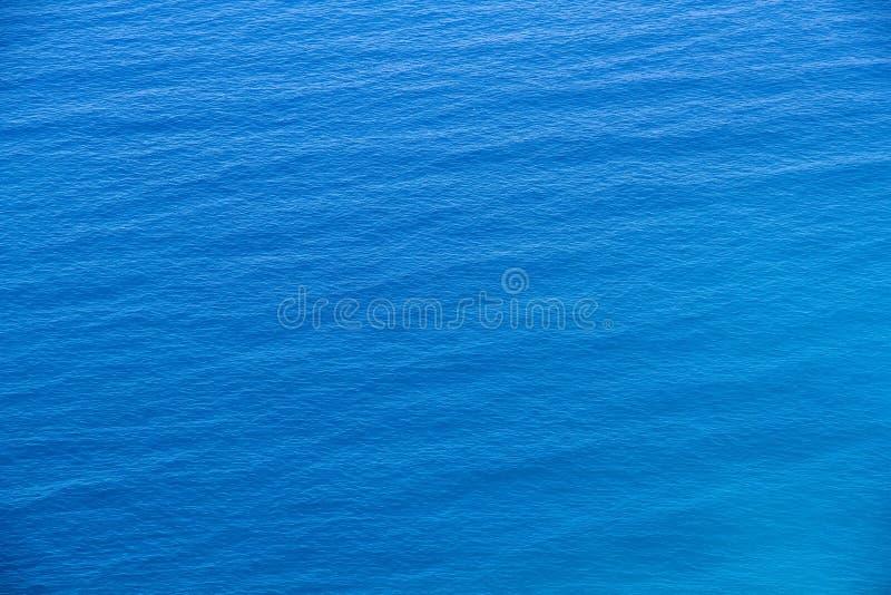 海表面的鸟瞰图 库存图片