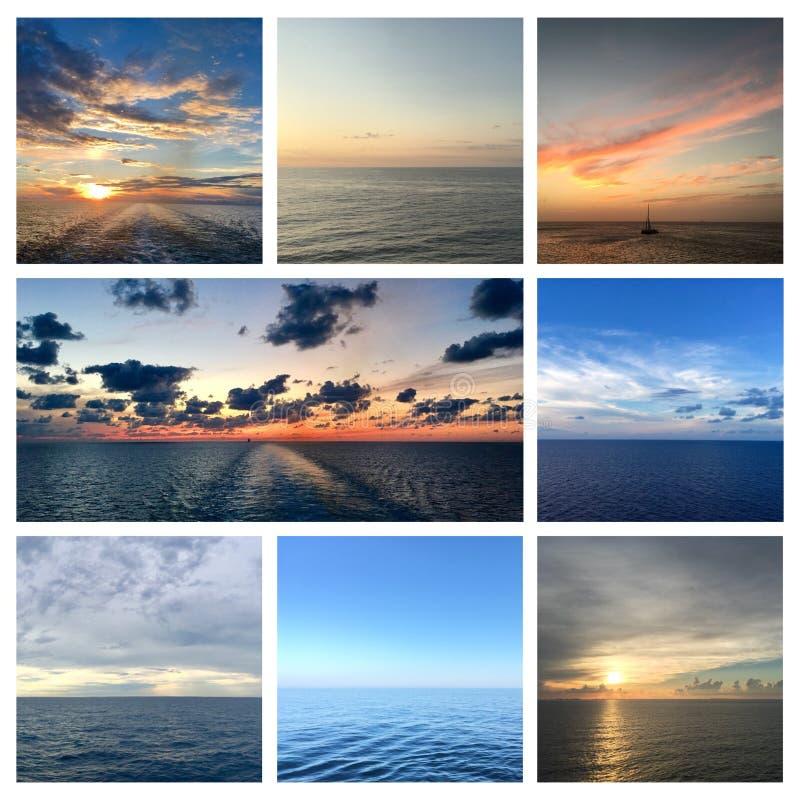 海视图照片拼贴画 库存图片