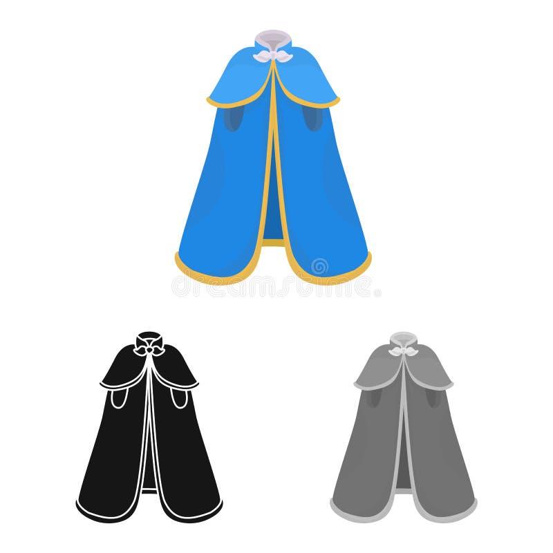 海角和贵族标志被隔绝的对象  设置海角和人股票传染媒介例证 皇族释放例证