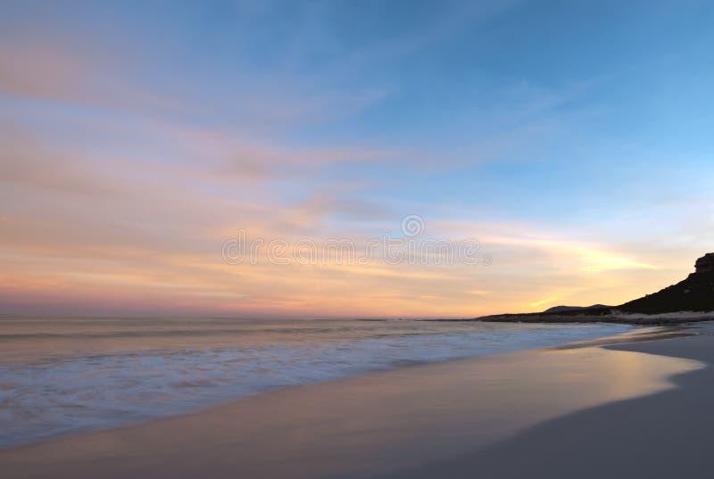 海角海岸线好希望 库存照片