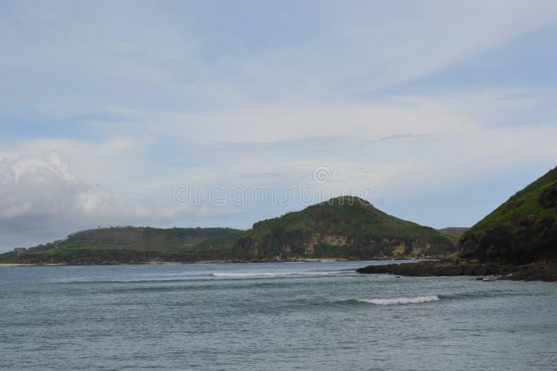 海角Aan,龙目岛,印度尼西亚 图库摄影
