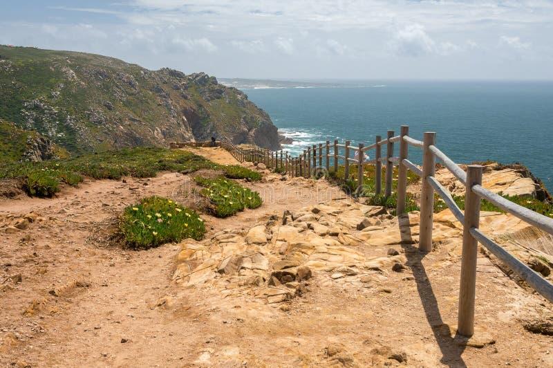 从海角Roca的看法 免版税库存图片