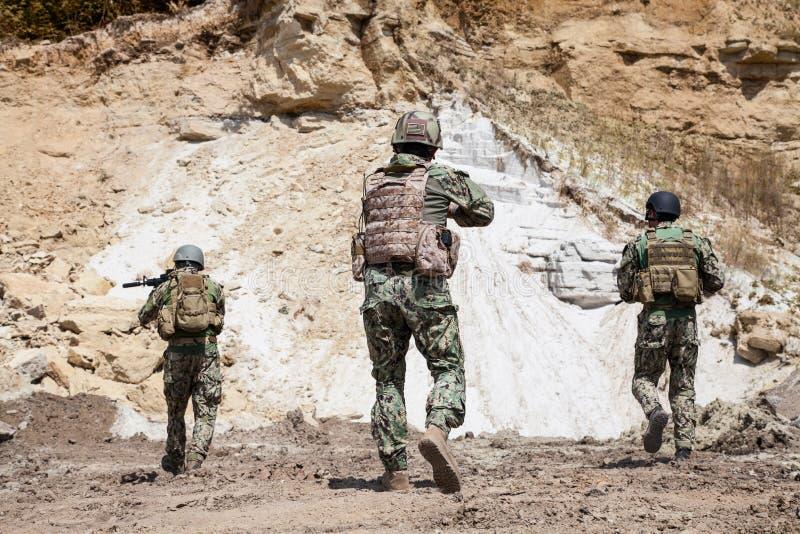海豹特种部队队 图库摄影