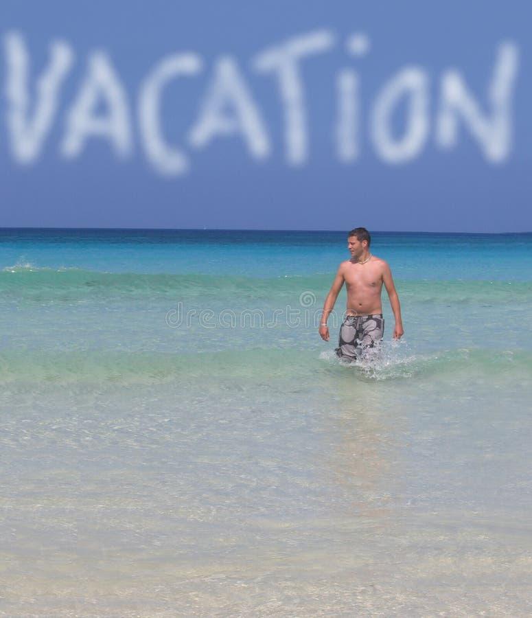海边假期 免版税库存图片