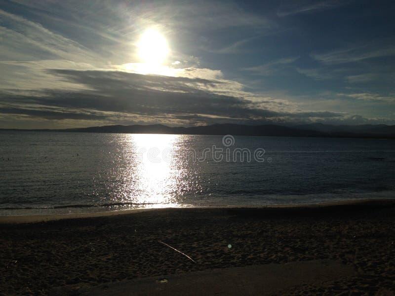 海边 免版税图库摄影
