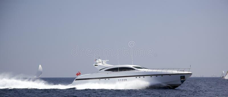 海运快艇 免版税图库摄影