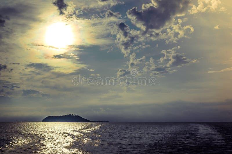 海运海岛 库存照片