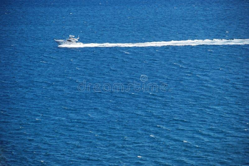 海运游艇 免版税库存照片