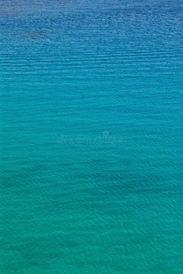 海运绿松石 库存图片