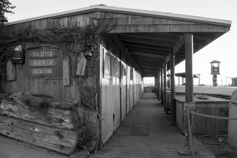 海鲂渔船队大厦 免版税库存图片