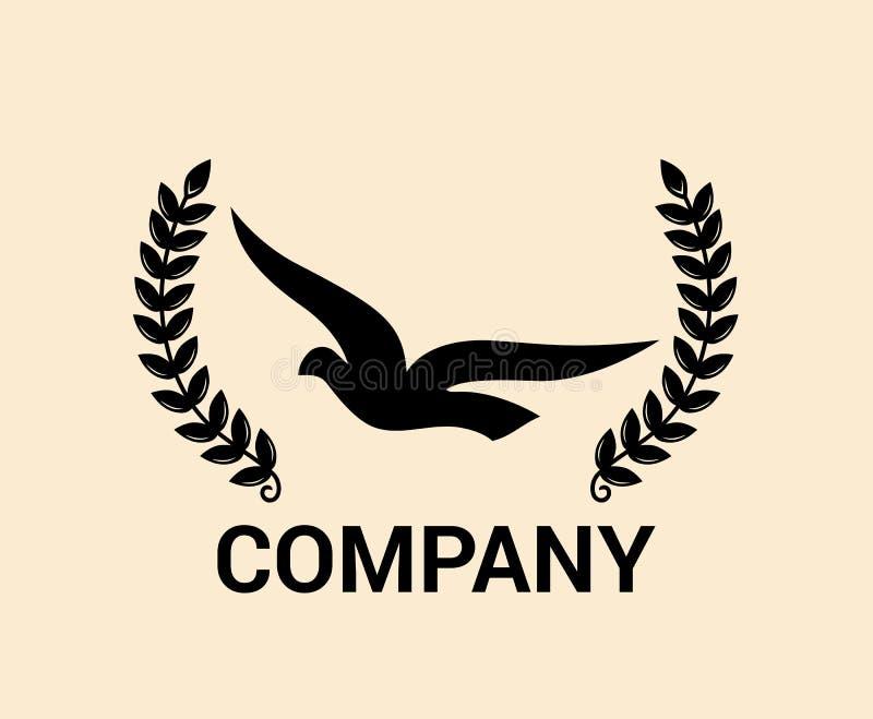海鸟商标想法1 皇族释放例证