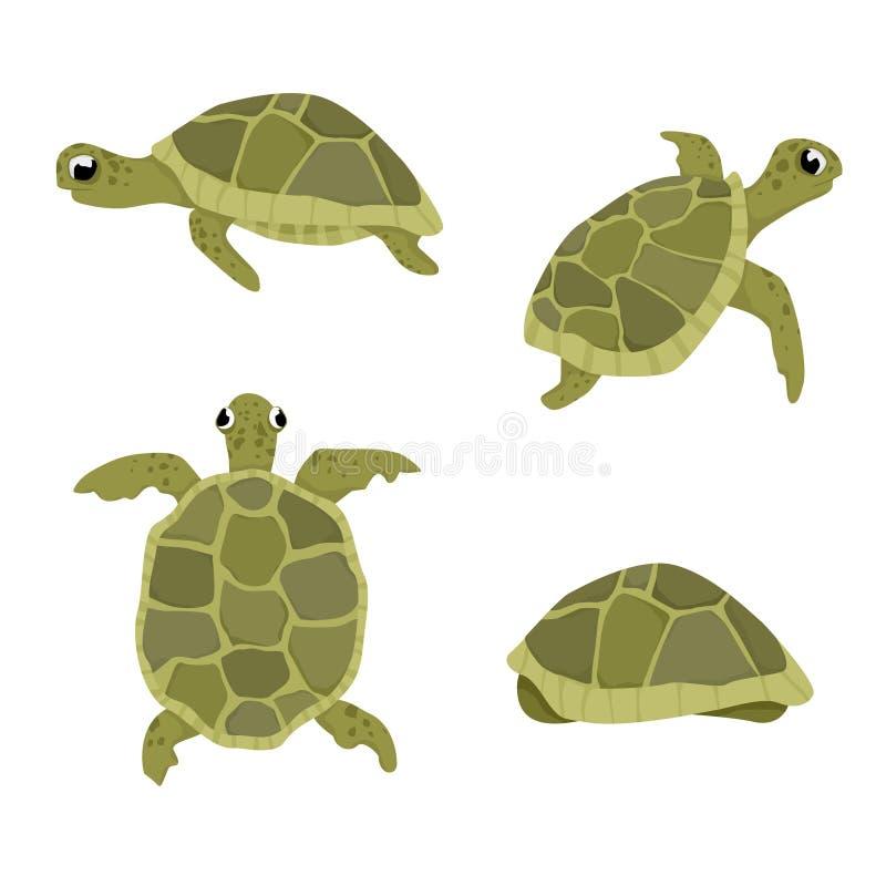 海龟例证 免版税库存图片