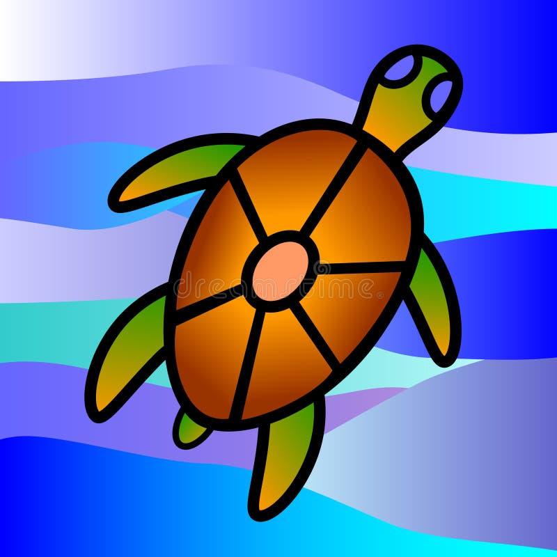 海龟 库存例证