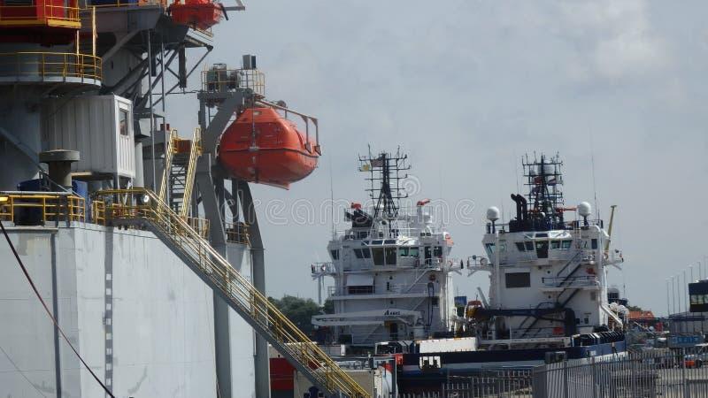 海洋供应商 库存照片