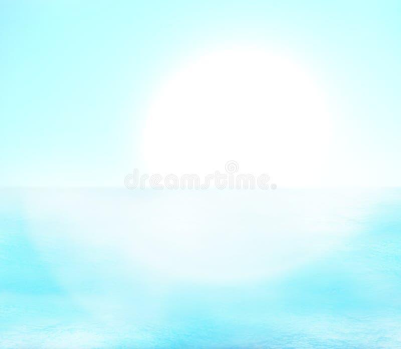 水海洋假日 向量例证