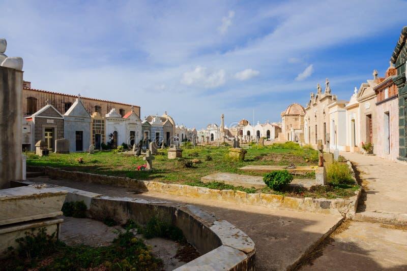 海洋公墓, Bonifacio 库存照片