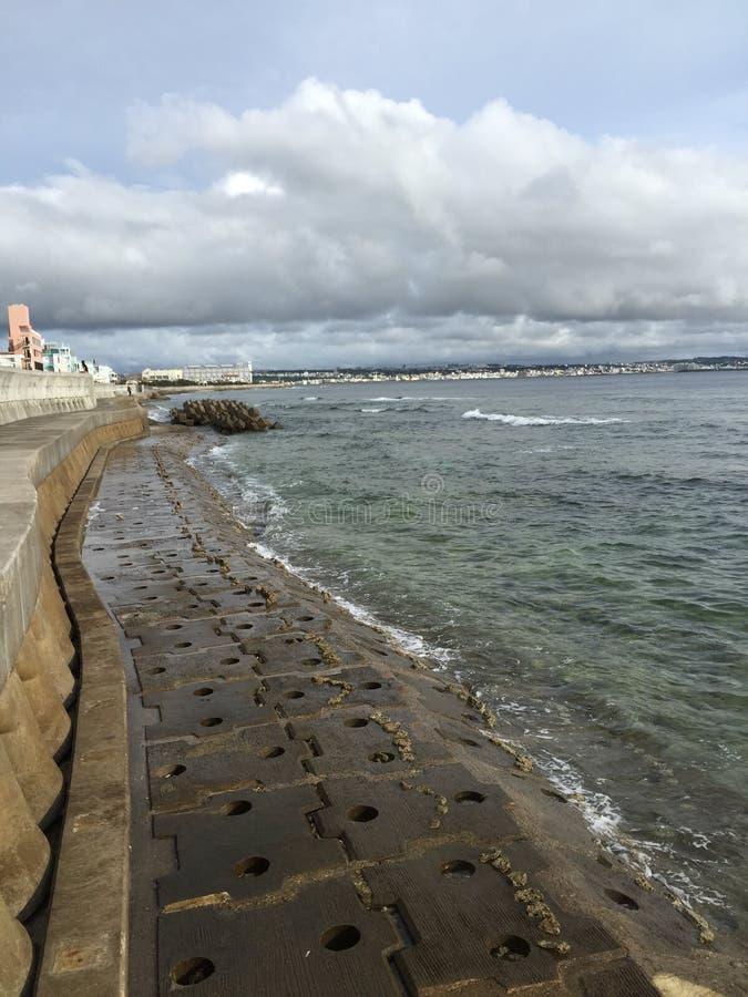 海滩冲绳岛 图库摄影