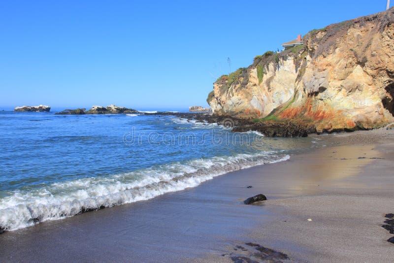 海滩加利福尼亚pismo 免版税库存照片
