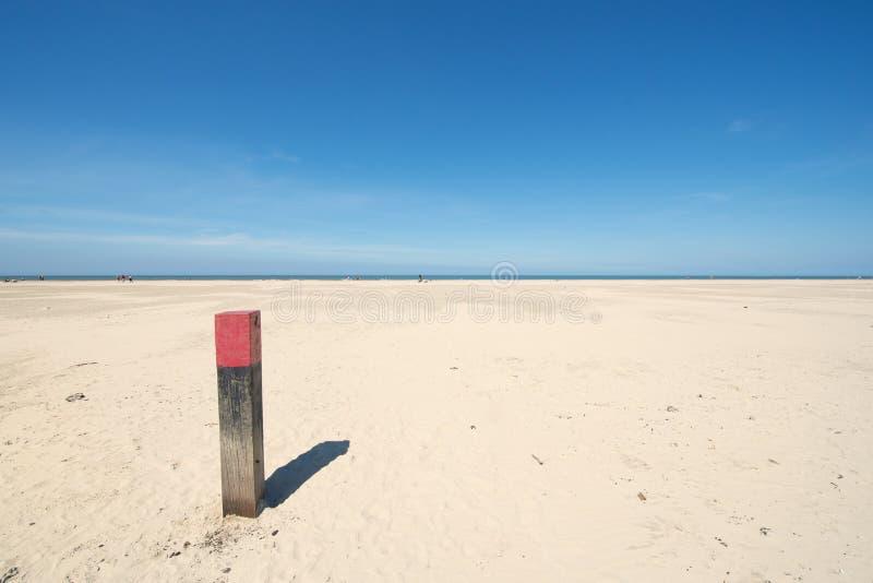 海滩和海岸Northsea 库存图片