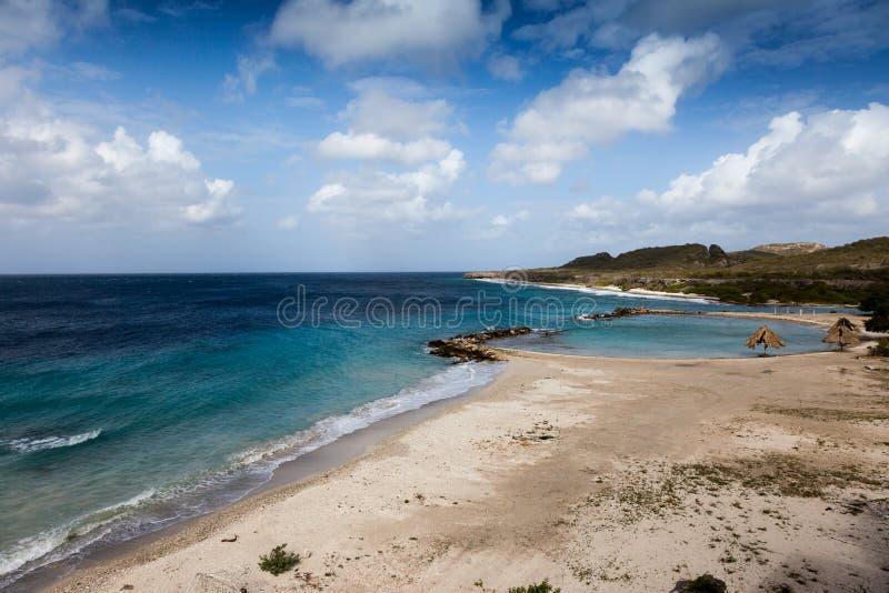 海滩和海运 免版税库存图片