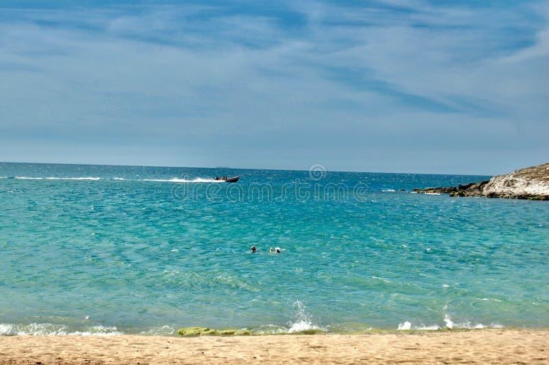 海滩在委内瑞拉 库存照片