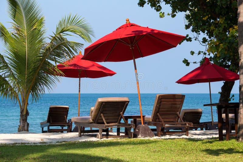 海滩在泰国。 免版税图库摄影