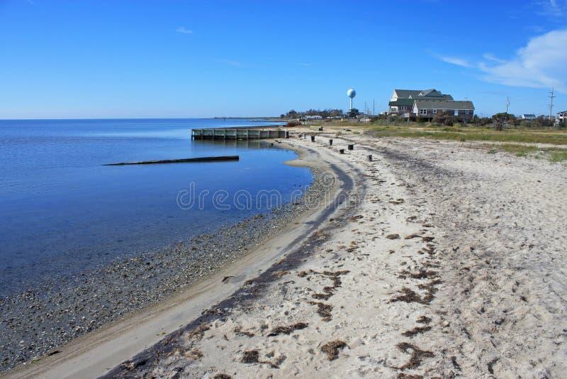 海滩在Rodanthe 图库摄影