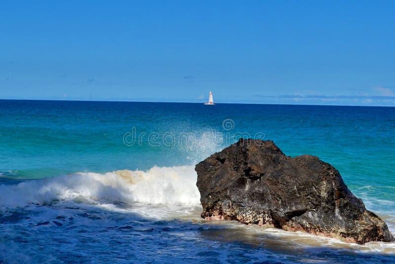 海洋场面1 免版税库存图片