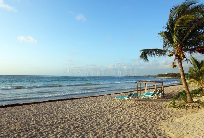 海滩墨西哥 图库摄影