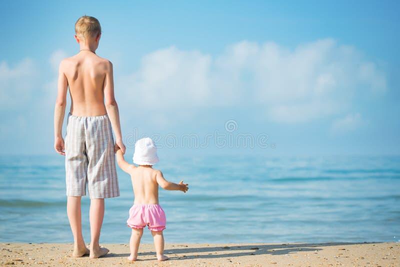 海滩子项二 图库摄影