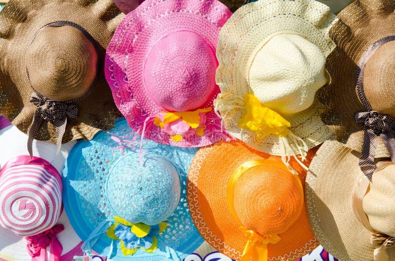 海滩帽子 图库摄影