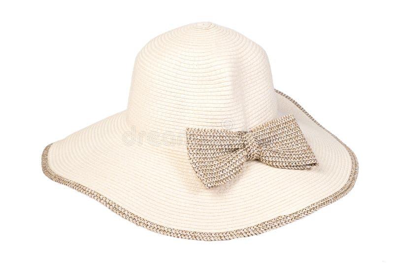 海滩帽子 免版税库存照片